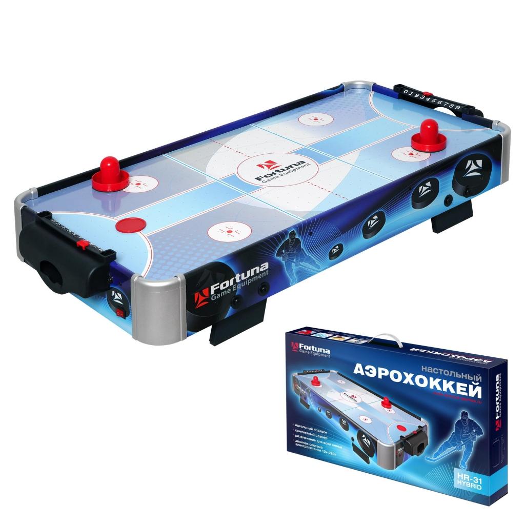 Настольная игра FORTUNA 07748 Аэрохоккей HR-31 Blue Ice Hybrid <br>