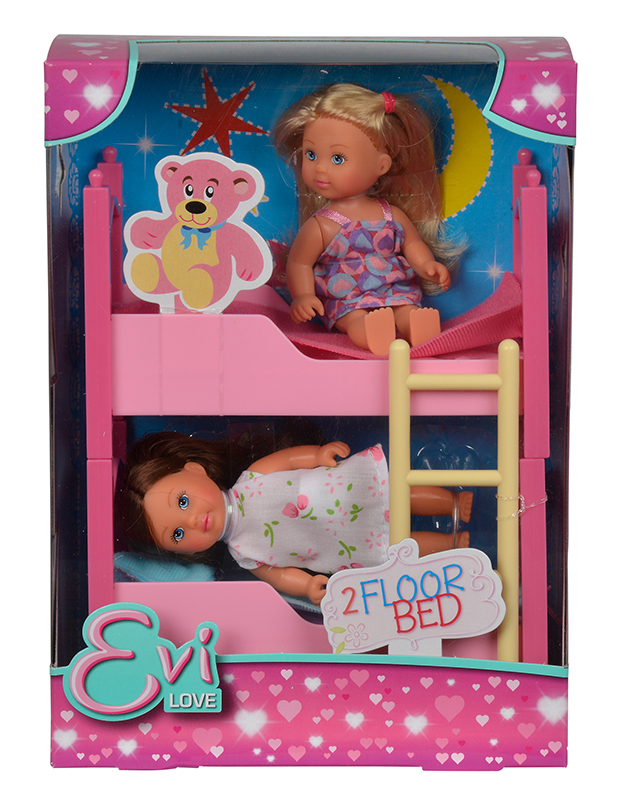 Кукла EVI 5733847 с кроваткой (2 шт) <br>
