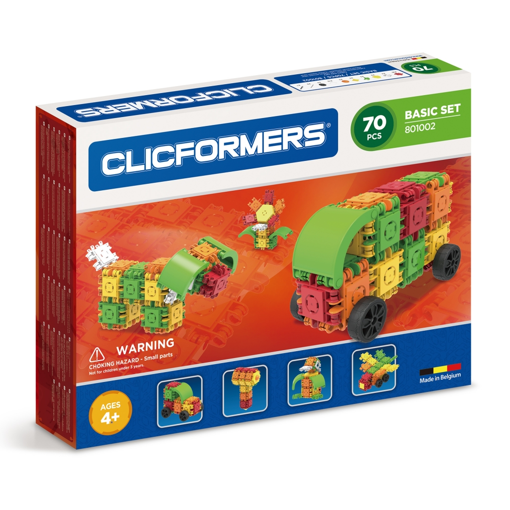 Конструктор CLICFORMERS 801002 Basic Set 70 деталей <br>