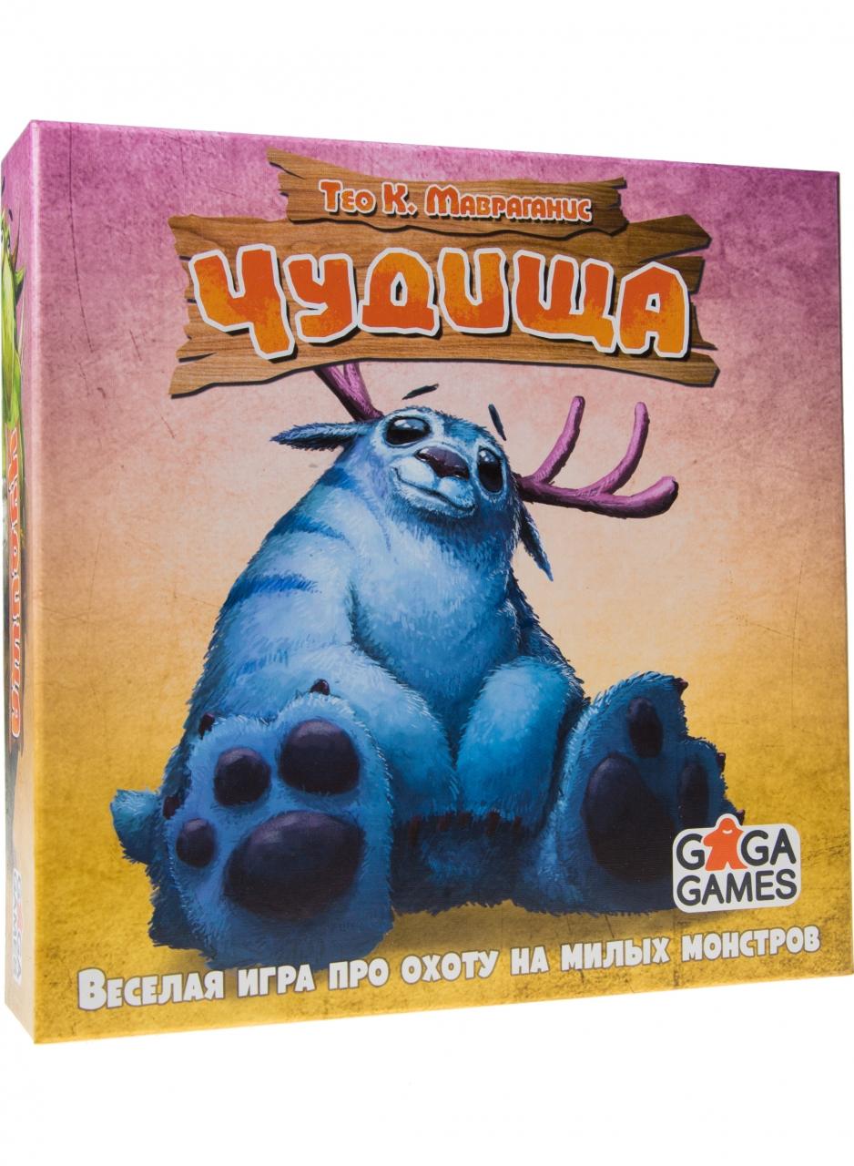 Настольная игра GAGA GAMES GG126 Чудища <br>