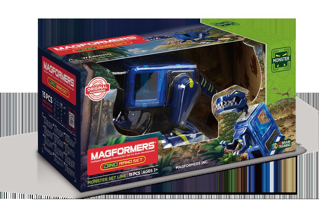 Магнитный конструктор MAGFORMERS 716003 Dino Rano set <br>