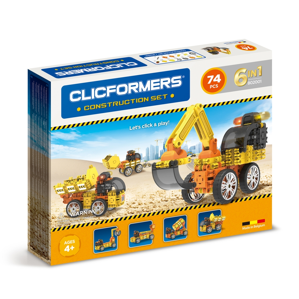 Конструктор CLICFORMERS 802001 Construction set 74 деталей <br>