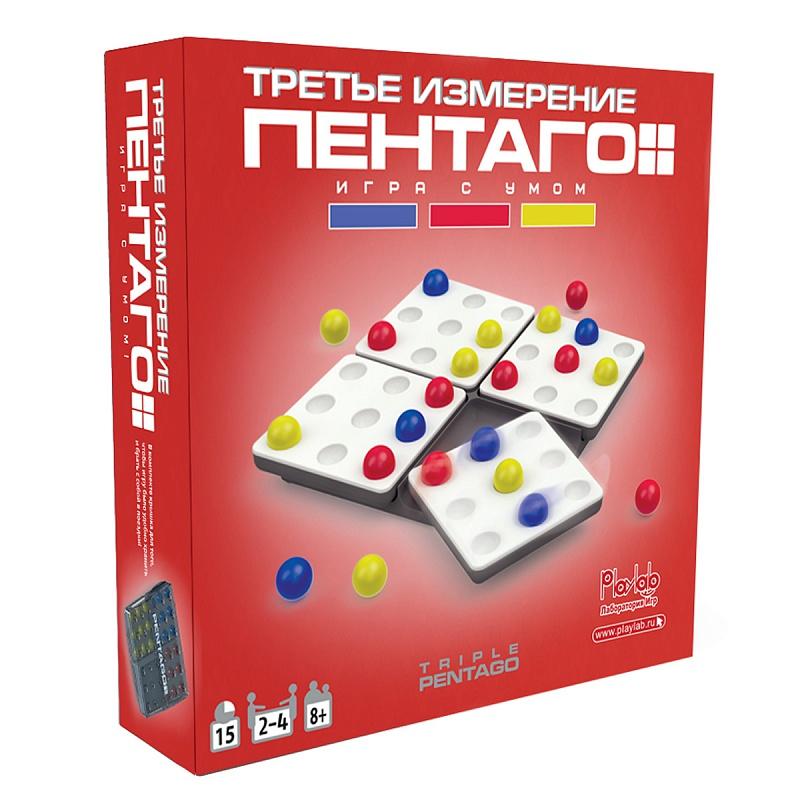 Настольная игра MARTINEX M6258 Пентаго Третье Измерение <br>