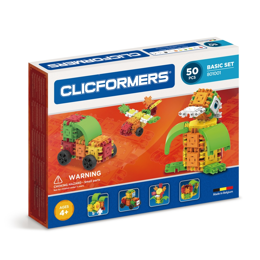 Конструктор CLICFORMERS 801001 Basic Set 50 деталей <br>