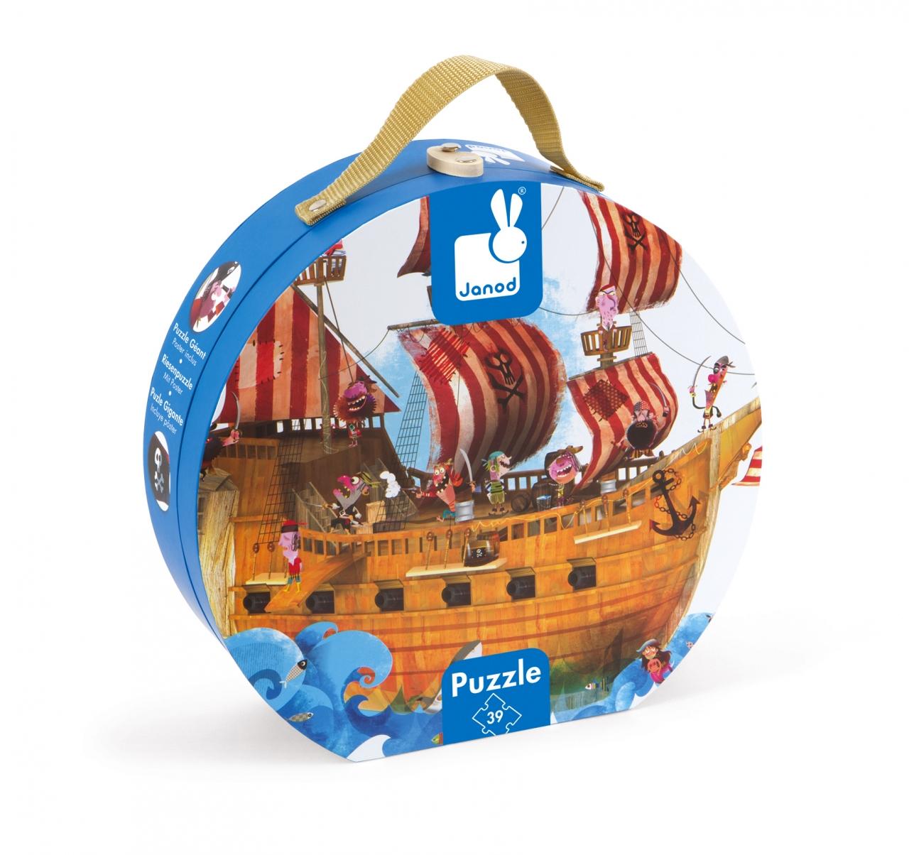 Пазл JANOD J02819 Пиратский корабль <br>