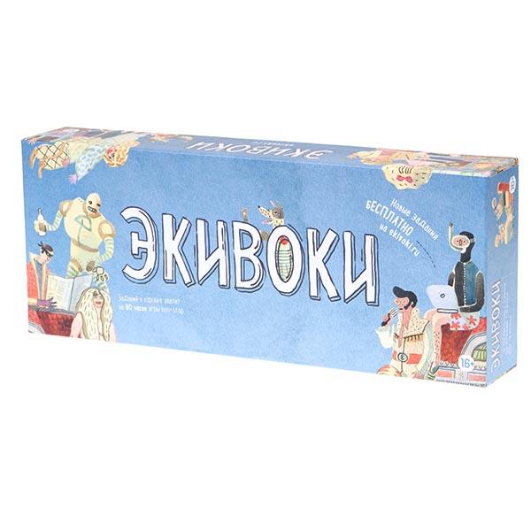 Настольная игра ЭКИВОКИ 21218 2-е издание <br>