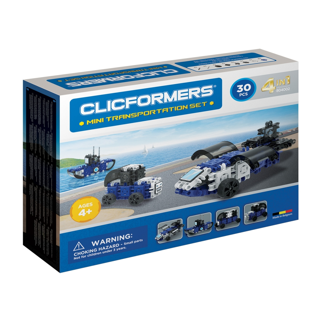 Конструктор CLICFORMERS 804002 Transportation set mini 30 деталей <br>