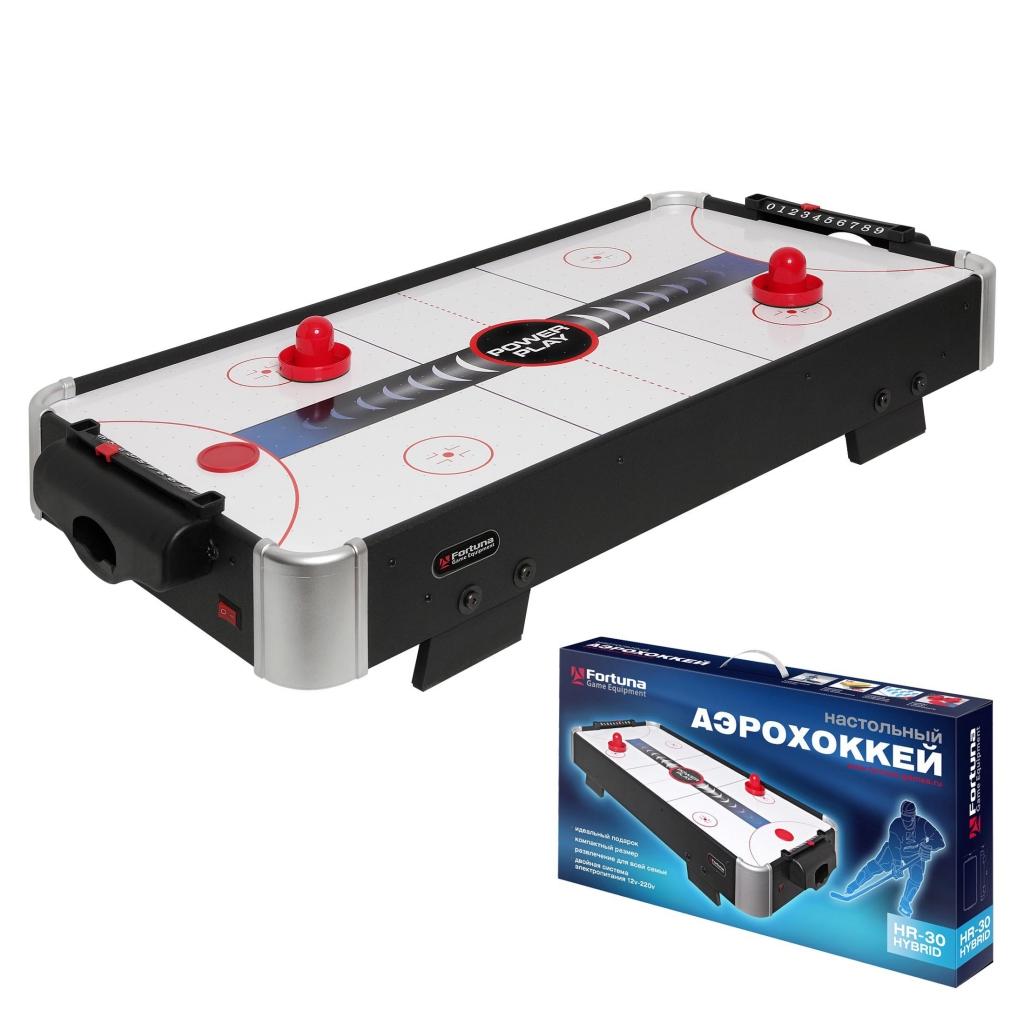 Настольная игра FORTUNA 07747 Аэрохоккей HR-30 Power Play Hybrid <br>