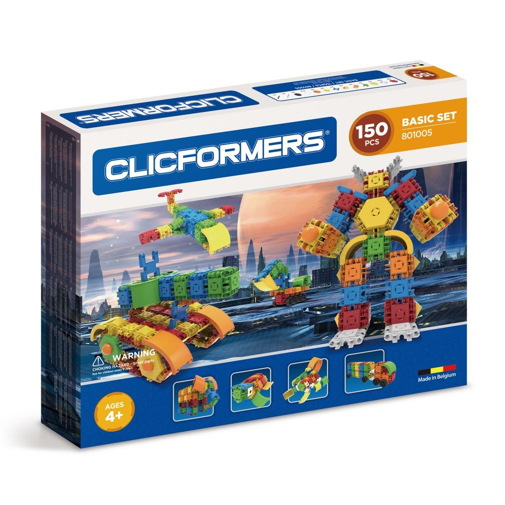 Конструктор CLICFORMERS 801005 Basic Set 150 деталей <br>